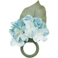 Argola Hortensia Bleu