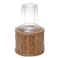 Moringa De Vidro Bambu