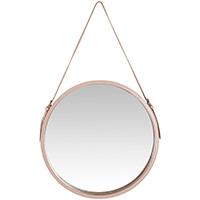 Espelho Cuir Blush M